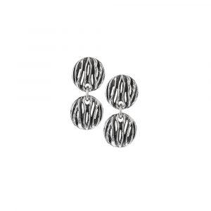 orecchini marte in argento